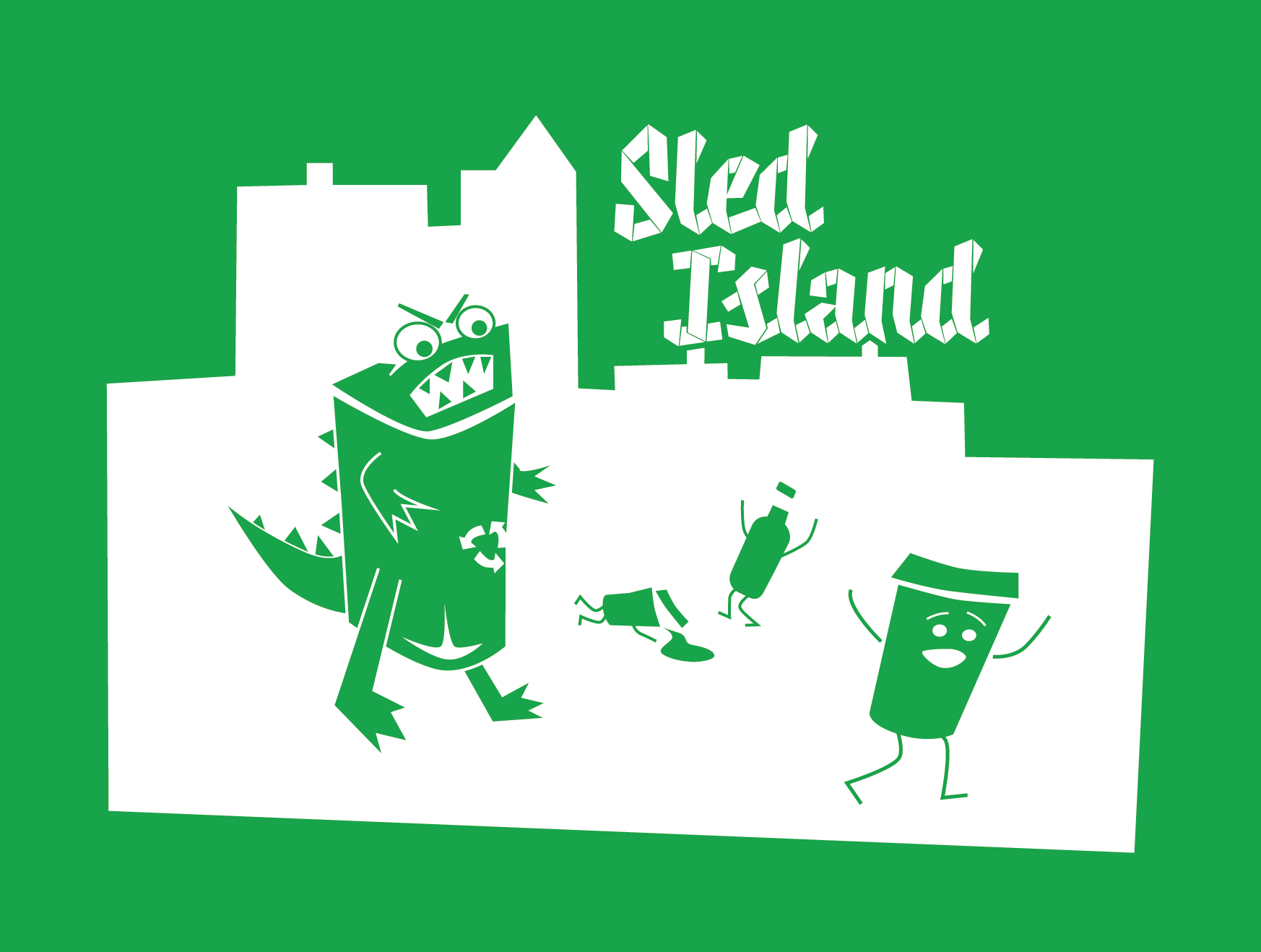 Sled Island Music Festival Recycling Promotion